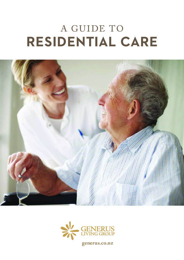 Guide to residential care thumbnail image