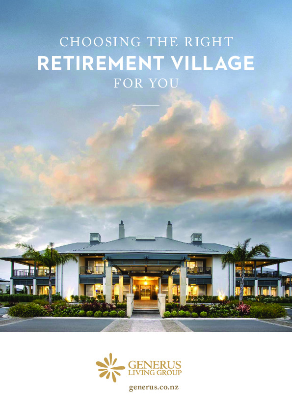 A Guide to Choosing the Right Retirement Village thumbnail image